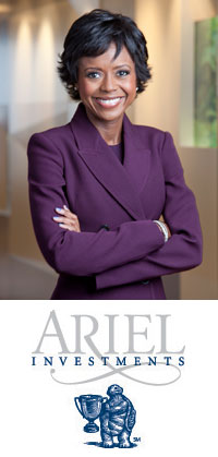 Mellody Hobson, President of Ariel Investments and chairman of the board for DreamWorks Animation SKG, Inc.