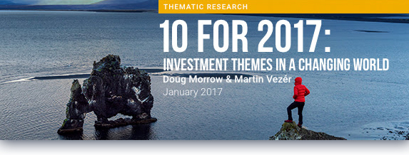 10 for 2017: Investment Themes in a Changing World from Sustainalytics