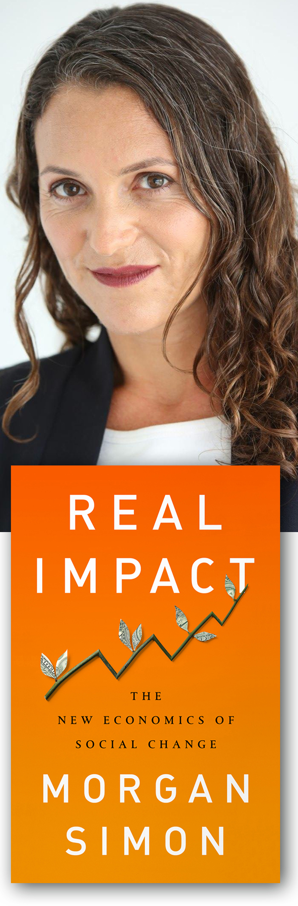 GreenMoney Interviews: Morgan Simon, author of Real Impact