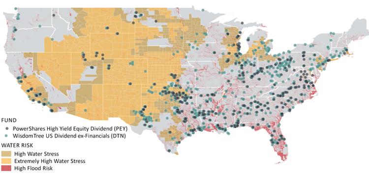 Water Risk US Map_msci