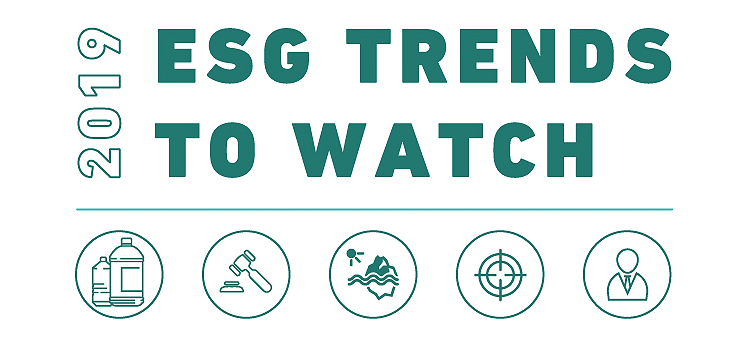 MSCI's Five ESG Trends to Watch in 2019