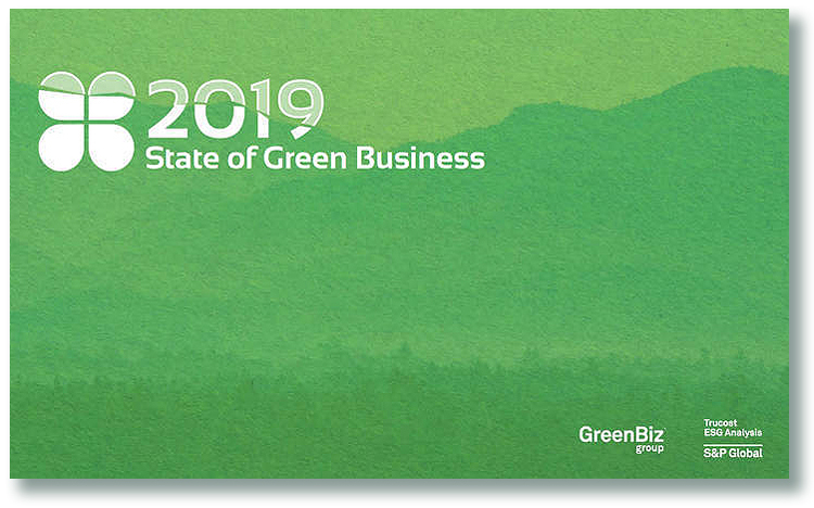 State of GreenBusiness 2019 – GreenMoney