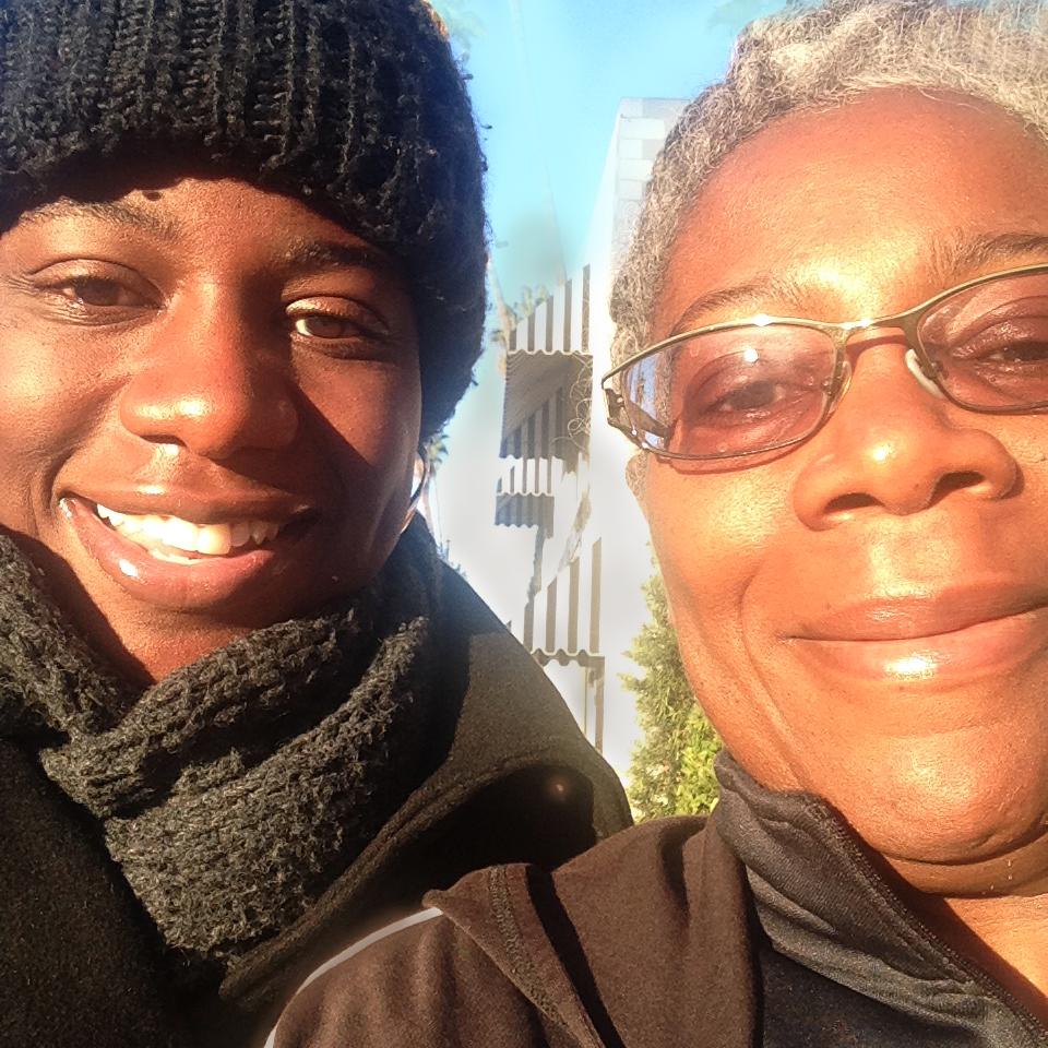 Amberjae Freeman and her Mom, Etho Capital