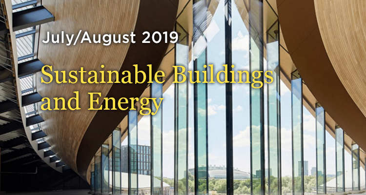 Sustainable Buildings and Energy - July/Aug 2019 - GreenMoney Journal