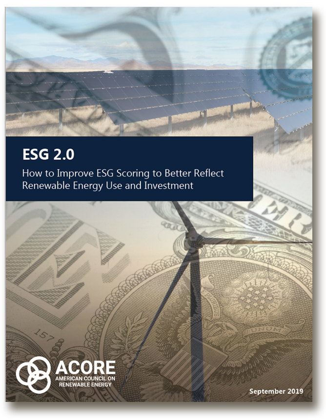 ESG 2.0 ACORE cover-GreenMoney