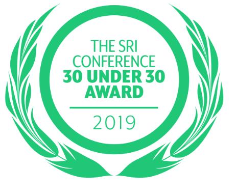 30 under 30 SRI Conference 2019 logo