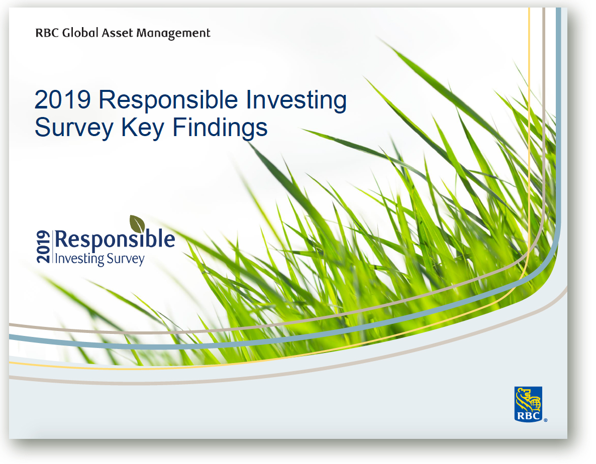 RBC Global Asset Mgmt 2019 Responsible Investing Survey GreenMoney