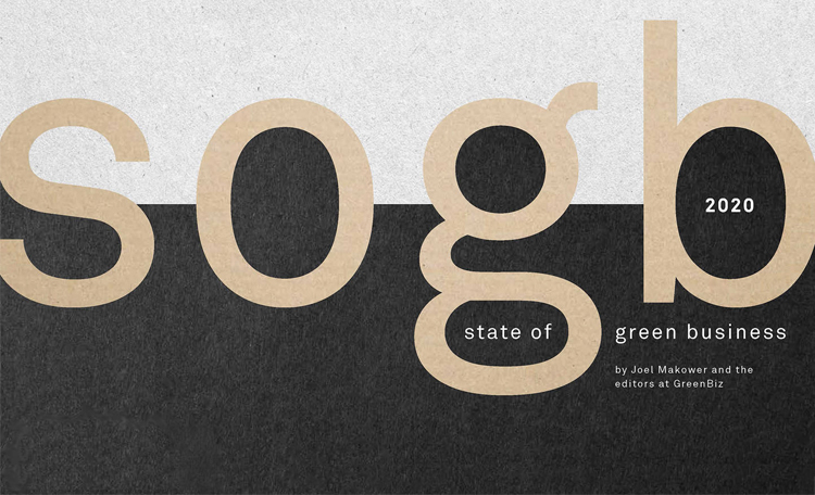 State of Green Business 2020 - GreenBiz - GreenMoney Journal
