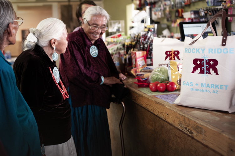 Germaine Simonson owner of Rocky Ridge Gas and Market
