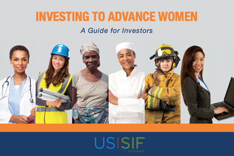 USSIF-Investing to Advance Women-A Guide for Investors-GreenMoney