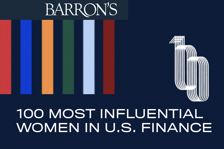 Barrons 100 Women Leading US Finance