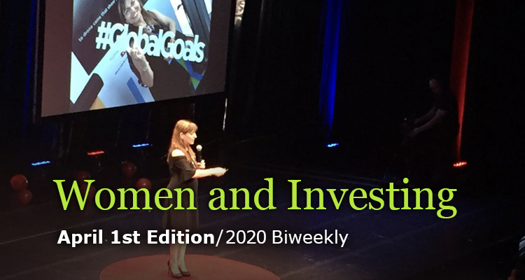 Women and Investing - April 1st Edition - GreenMoney Journal