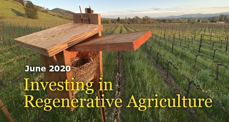 Investing in Regenerative Agriculture - June, 2020 - GreenMoney Journal