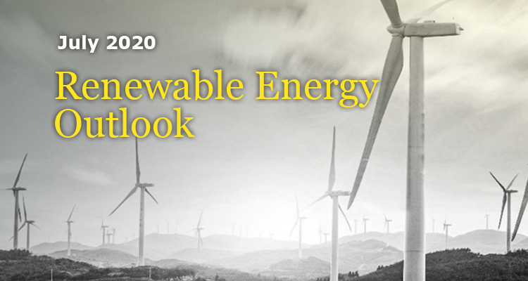 Renewable Energy Outlook - July, 2020 - GreenMoney Journal