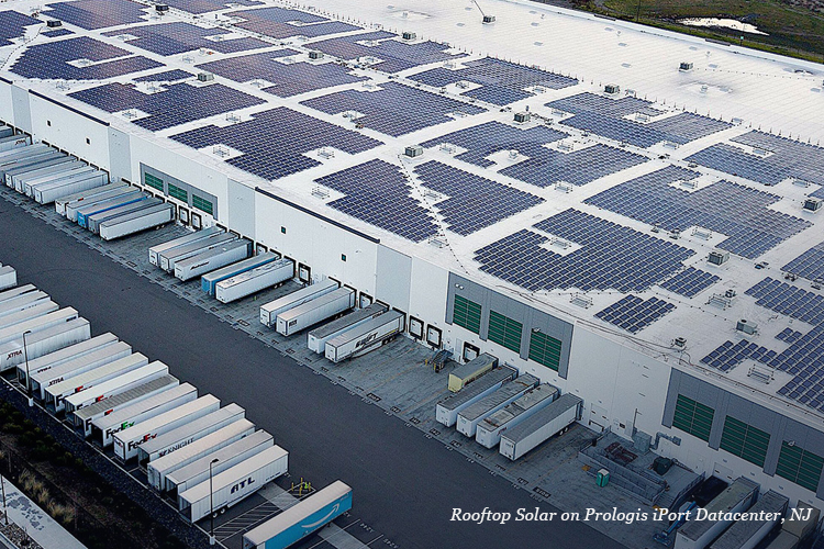 Renewable Energy in Real Estate-rooftop Solar onPrologis iPort datacenter-GreenMoney