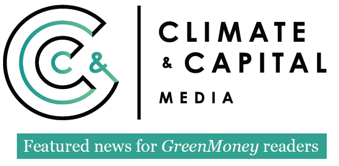 CCM Featured news for GreenMoney readers