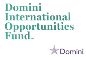 New Domini International Opportunities Fund Launched