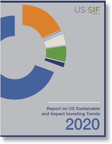 SRI Trends Report 2020-US SIF-Cover