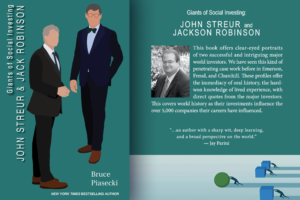 Giants of Social Investing-John Streur and Jack Robinsion by Bruce Piasecki