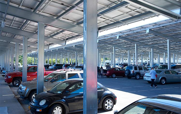 Washington Metro Area Transit Authority parking lot solar canopy-JLL-GreenMoney