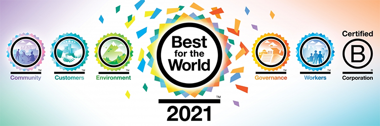 Best for the World-B-corp 2021
